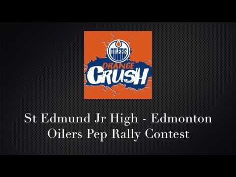 St Edmund Junior High - Edmonton Oilers Pep Rally Contest