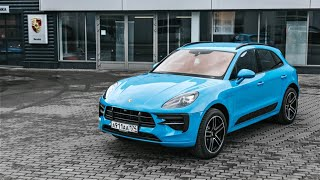 Новый Porsche Macan 2019  Тест драйв и обзор от Порше Центр Челябинск