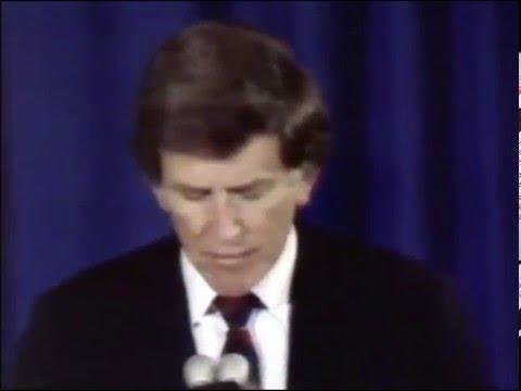 Gary Hart withdrawal, 1987