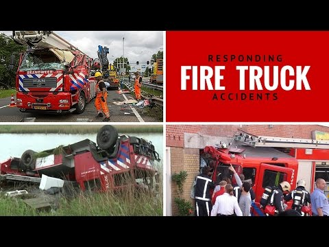 112 FIRE Truck Accidents