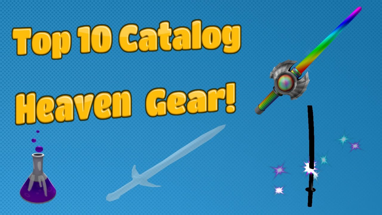 Top 10 Best Weapons On Catalog Heaven (UPDATED VERSION)
