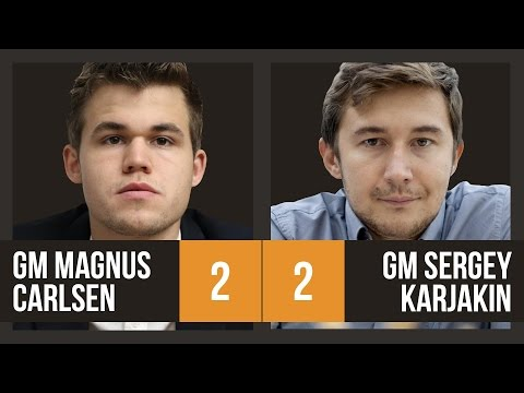 Sergey Karjakin vs Magnus Carlsen | World Championship Game 4