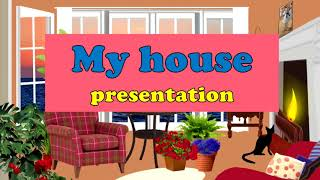 My house.  Мой дом. Английский для детей. English for kids