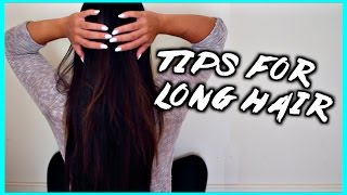 hair care routine & tips for growing long hair Thumbnail