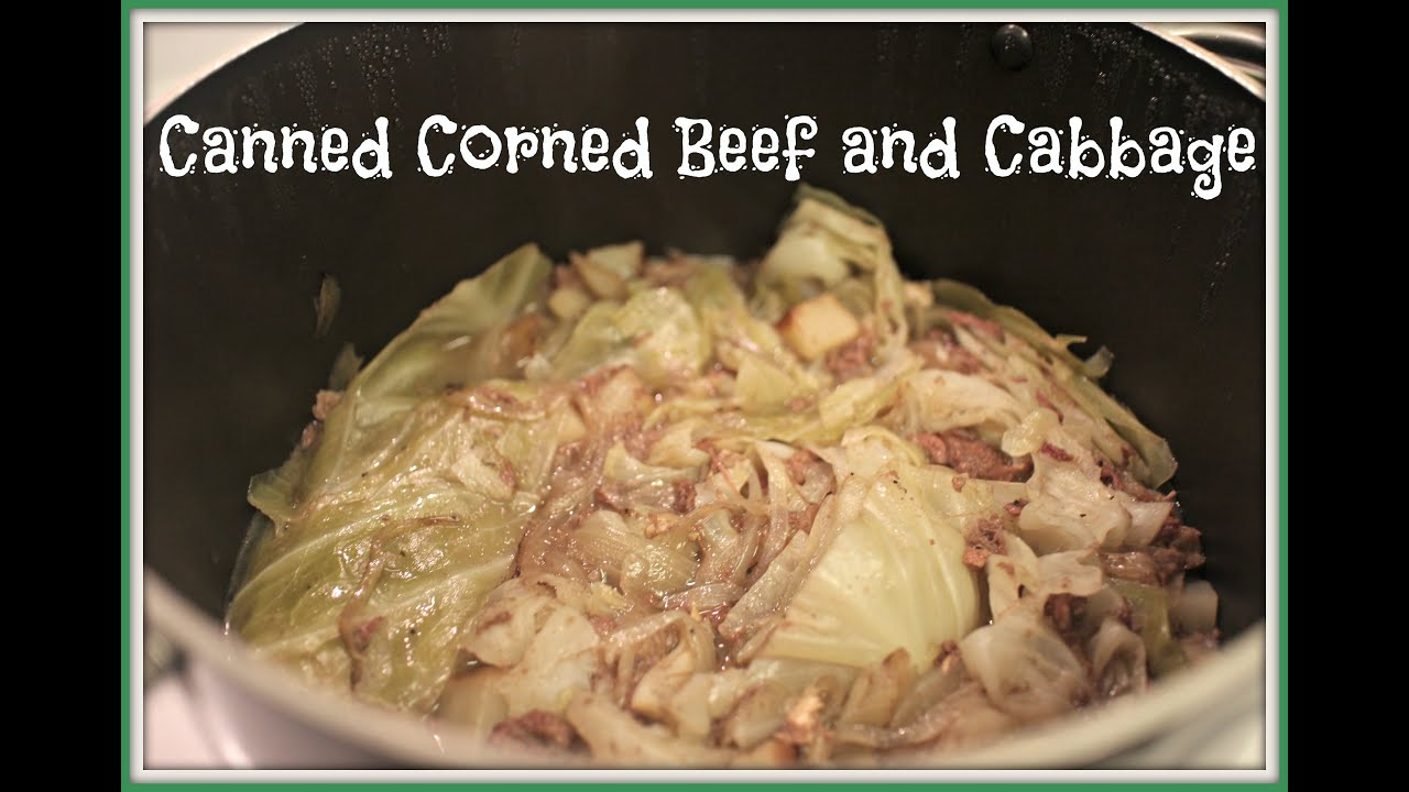 Canned corned beef and cabbage msshawijoy youtube canned corned beef and cabbage msshawijoy ccuart Gallery