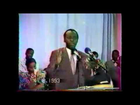 Ancien ministre de Mobutu libéré par Jésus de l'occultisme