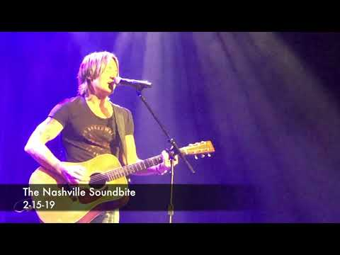 Keith Urban Brand New Music We Were February 2019