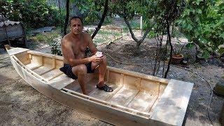 Лодка для болота.The boat for the marsh.