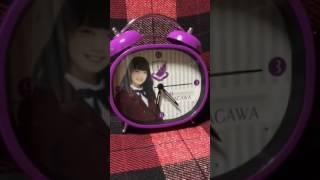 いまは、卒業してしまった、深川麻衣さんのボイス付、目覚まし時計です...