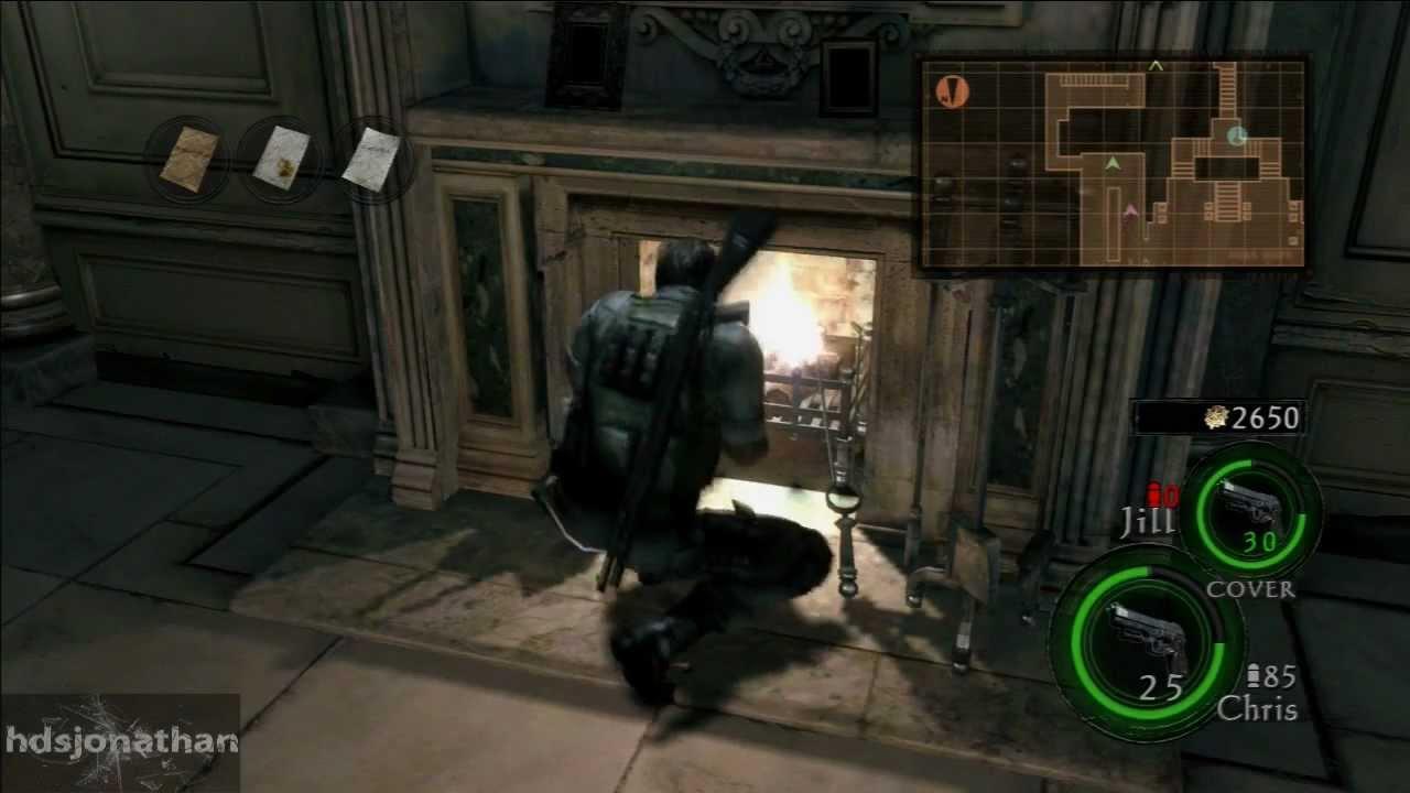 Resident Evil 5 Walkthrough Lost In Nightmare Jill Valentine