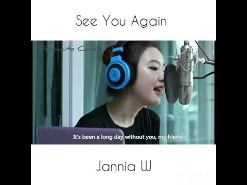 See You Again - Charlie Puth cover by Jannina W