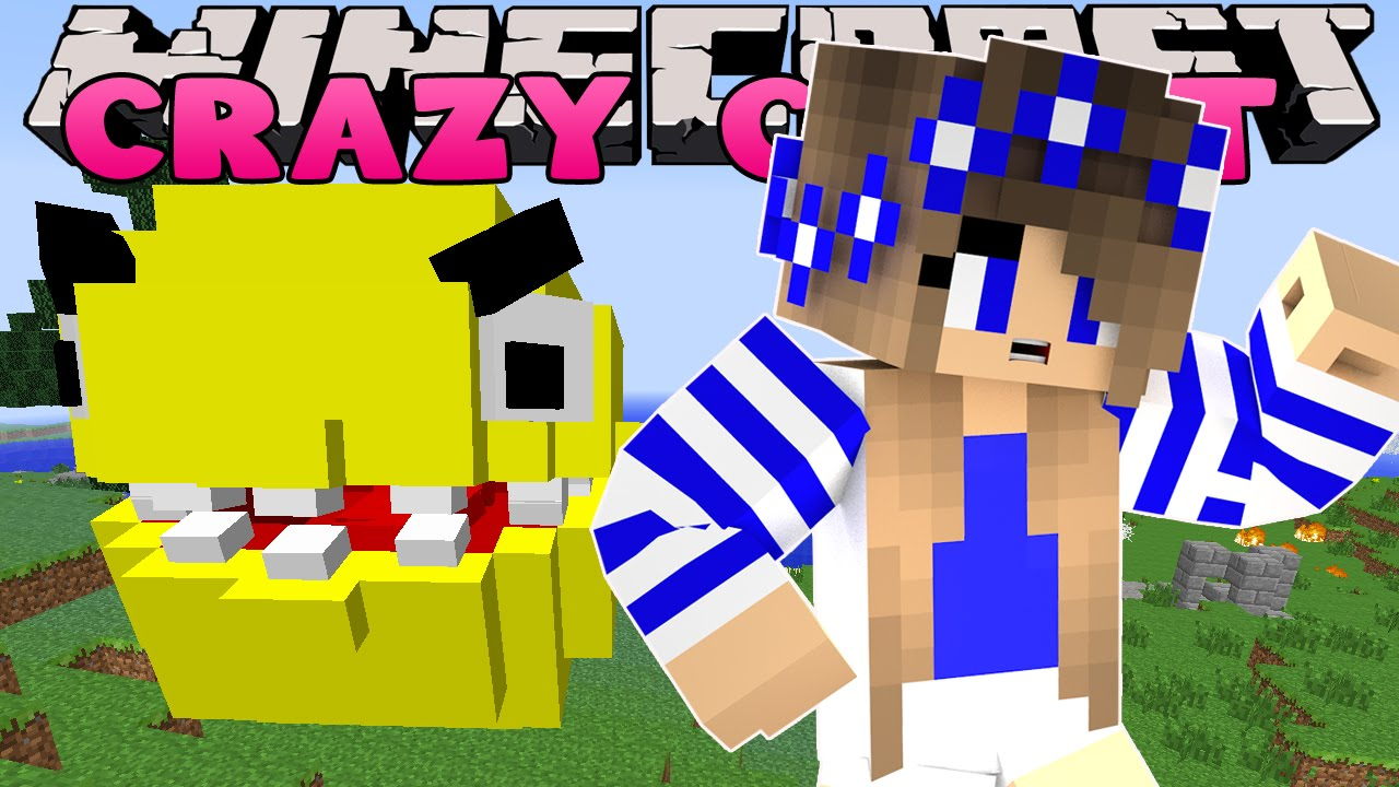Minecraft crazy craft 3 0 hunting pacman w little kelly for Crazy craft 3 0 server