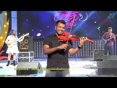 Bala Bhaskar performing live @ 53rd Bengaluru Ganesh Utsava...!!!