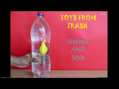 SHRINK AND SINK - TAMIL - Simple Cartesian Diver!
