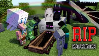 Monster School: RIP ENDERMAN - Minecraft Animation