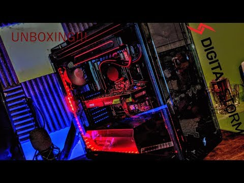 Digital Storm Lumos Unboxing Experience