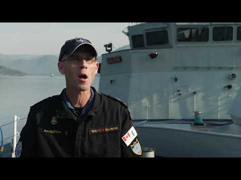 Meet the Chief Operations Specialist of Standing NATO Maritime Group 2