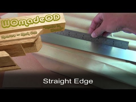 Precision Straight Edge - How to make one