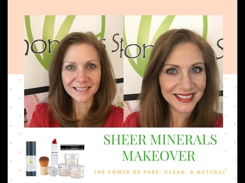 Lemongrass Spa's Sheer Minerals Makeup Demo