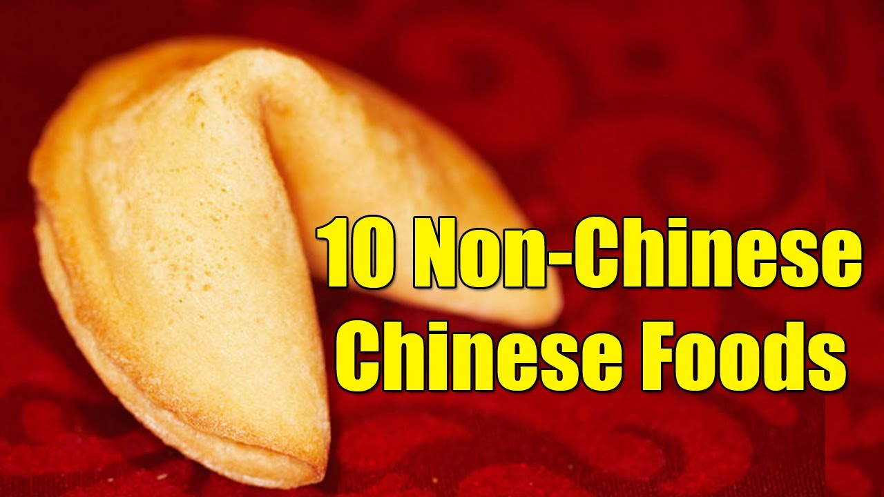 What Is Actual Chinese Food Like