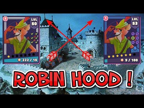 Robin Hood 1-6 Star Character Review WITH Gameplay ! Disney Sorcerer's Arena | NolanDSA