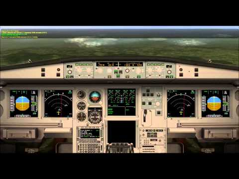 Full Flight London Heathrow to Frankfurt am Main A340, X-Plane 10