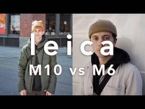 Leica M10 vs M6   Street Photography and Portraits in NYC with ioegreer