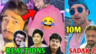 Scout BREAKS RECORDS! - CarryMinati, Dynamo Reaction | MortaL, Harsh Beniwal 10M, Hindustani Bhau |