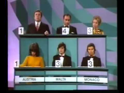 Eurovision 1971 - Voting Part 1/3