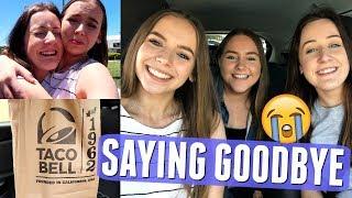 TACO BELL, KMART ADVENTURES & SAYING GOODBYE! | Weekly Vlog #63 Pt.4