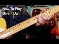 Give It Up KC And The Sunshine Band Guitar Lesson mp3