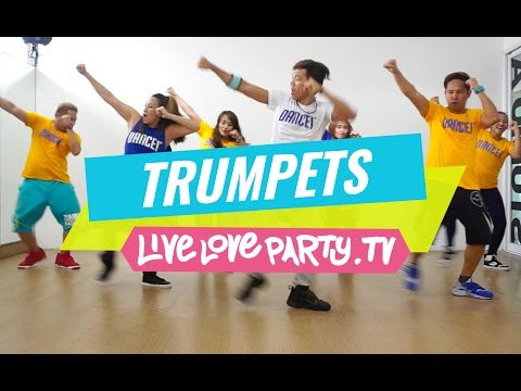 Trumpets | Zumba® | Live Love Party | Dance Fitness | Trumpets Challenge |  #DUTTYSTEPPINZ