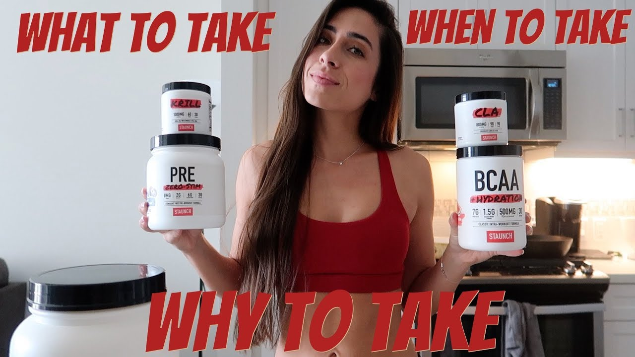 Revealing the SUPPLEMENTS I Take