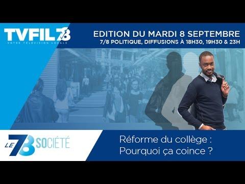 Le 7/8 Société – Réforme du collège : Pourquoi ça coince ?