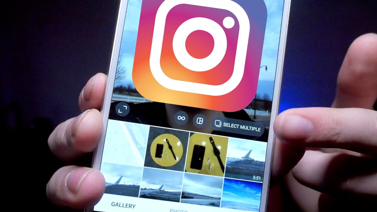 How to post multiple photos on instagram new update youtube how to post multiple photos on instagram new update ccuart Image collections