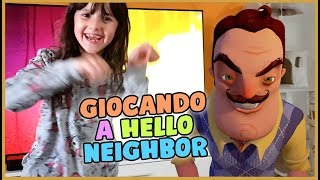 Alyssa Vs Hello Neighbor 😱 Che paura!
