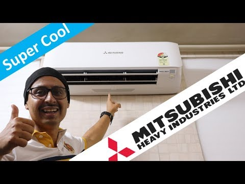 Mitsubishi Heavy Duty 1.3 Ton AC - Features And Review