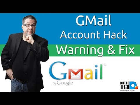 Gmail Security Hack - How to Fix It!