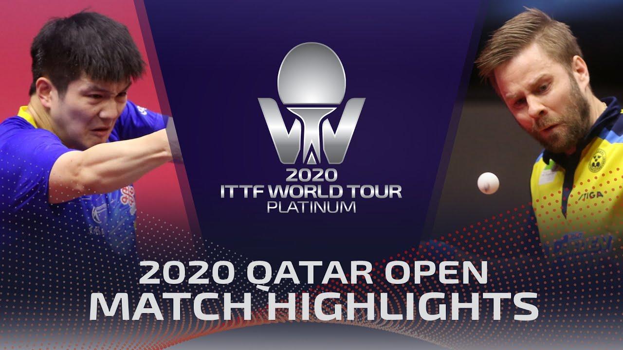 Download Fan Zhendong vs Jon Persson | 2020 ITTF Qatar Open Highlights (1/4)