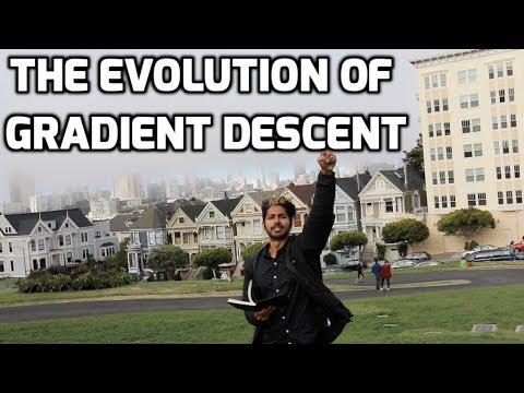 The Evolution of Gradient Descent