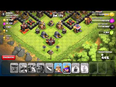Clash of Clans - Lavaloonion! (Attack Strategy)