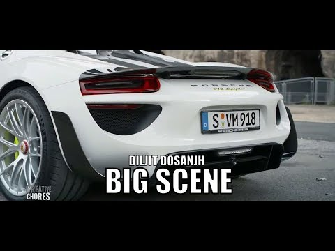 Diljit Dosanjh Big Scene vs Porsche (official video)