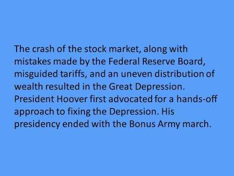 The 1929 Stock Market Crash by Jill McNamee