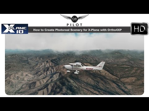 [X-Plane] How to Create Photoreal Scenery for X-Plane using Ortho4XP