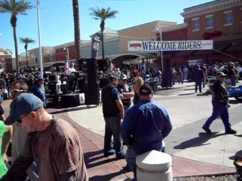 Arizona Centennial Ride staging at Mesa Riverview 02-11-12 a
