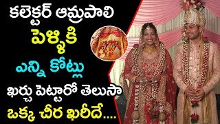 Shocking Facts About Collector Amrapali Wedding