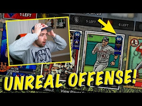 DIAMOND VICTOR MARTINEZ! BEST OFFENSE I'VE DRAFTED! MLB THE SHOW 18 BATTLE ROYALE