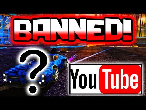They Are Going To BAN My ACCOUNT For This!? ( Rocket League )