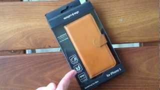 Чехол для iPhone 5 : Spigen SGP Leather Wallet Case Valentinus(Купить чехол можете тут: http://goo.gl/BXeuY Instagram : dimachabatar Группа ВК: http://vk.com/apple.expert Facebook ..., 2012-11-14T17:33:15.000Z)