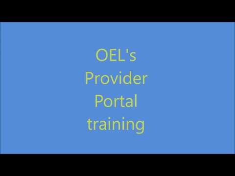 Office of Early Learning Provider Portal - Overview